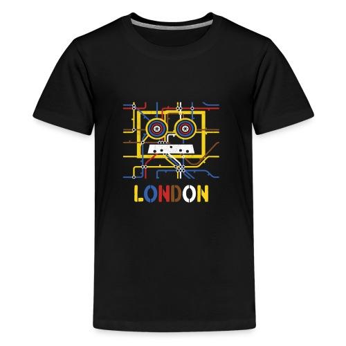 London Tube Map Underground - Teenager Premium T-Shirt