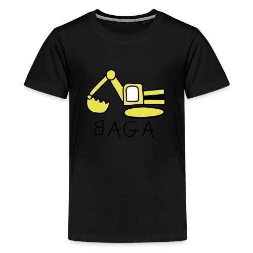 Bagger (BAGA) - Teenager Premium T-Shirt