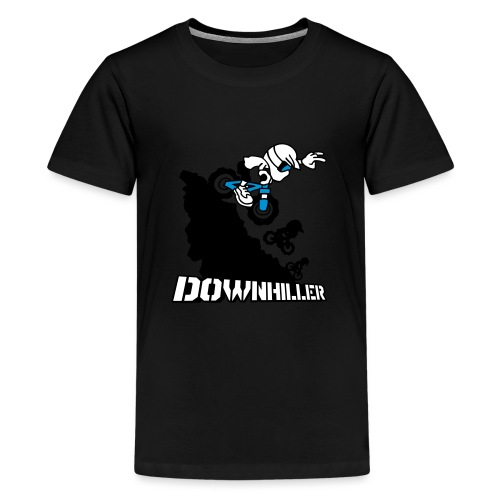 Downhiller - Teenager Premium T-Shirt