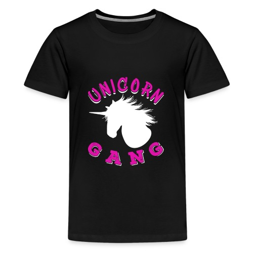 Unicorn Gang - Teenager Premium T-Shirt
