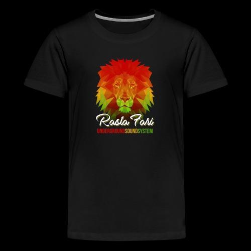 Rasta Fari LION - Teenager Premium T-Shirt