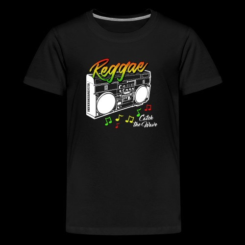 Reggae - Catch the Wave - Teenager Premium T-Shirt