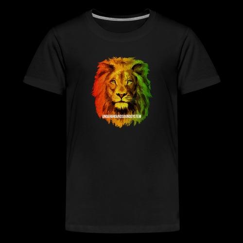 THE LION OF JUDAH - Teenager Premium T-Shirt