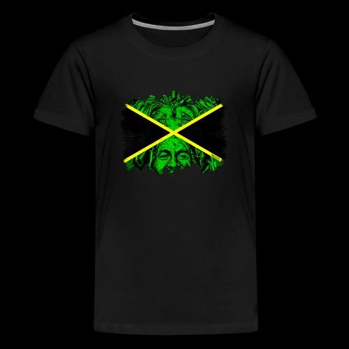 LION BOB JAMAICA - Teenager Premium T-Shirt