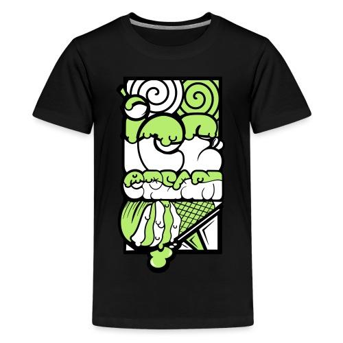 dessin ice cream 2 - T-shirt Premium Ado