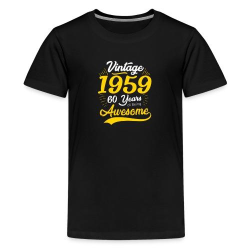 Vintage 1959 60th Birthday - Maglietta Premium per ragazzi