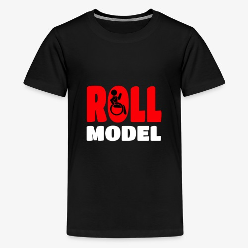 Rolstoel Roll model 015 - Teenager Premium T-shirt