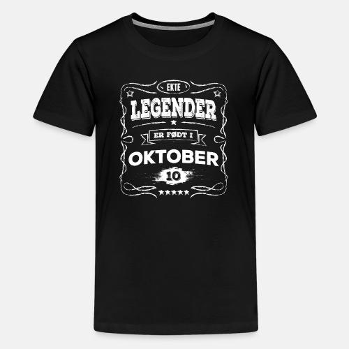 Ekte legender er født i oktober