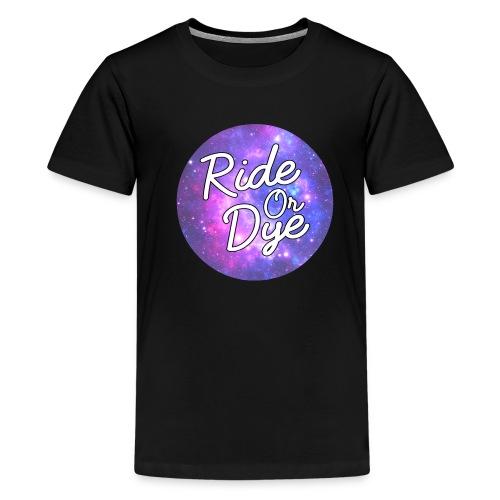 Galaxy Round - Teenage Premium T-Shirt