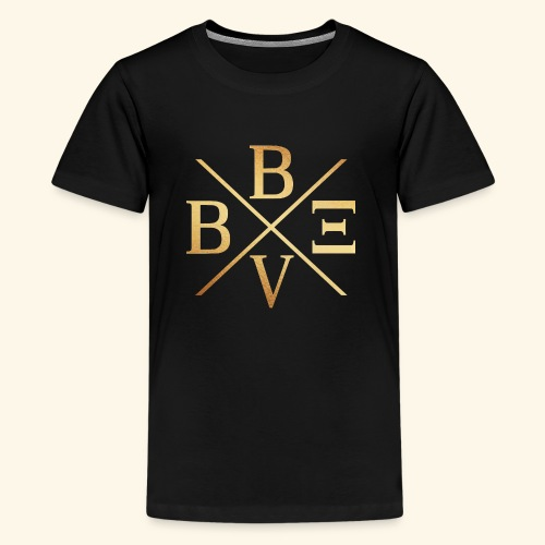 BVBE Gold X Factor - Teenage Premium T-Shirt