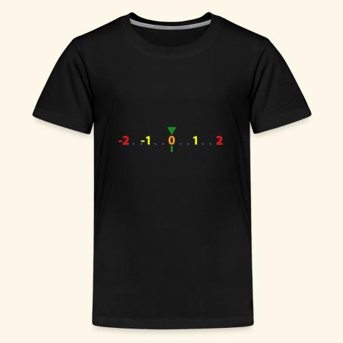 Light meter - Camiseta premium adolescente