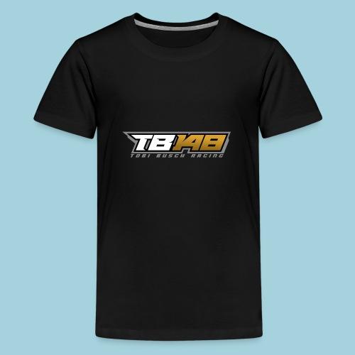 Tobi Logo Grau - Teenager Premium T-Shirt