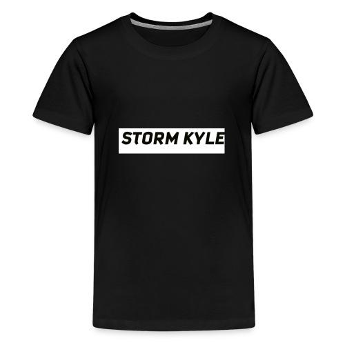 STORM KYLE T-Shirts - Teenage Premium T-Shirt