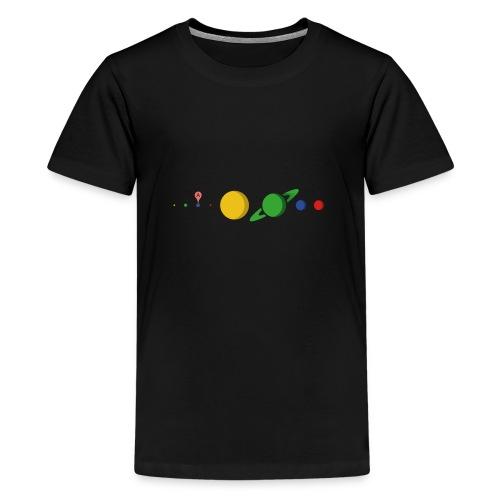 Kugel Maps - Teenager Premium T-Shirt