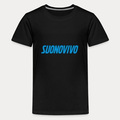 suonovivo_logo solo logo - Maglietta Premium per ragazzi