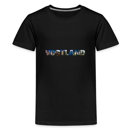 Vogtland Sachsen Urlaub - Teenager Premium T-Shirt