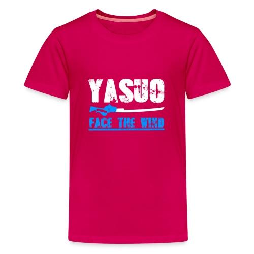 Yasuo Main - Teenager Premium T-Shirt