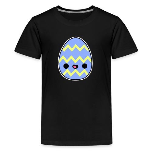 Glückliches Osterei - Teenager Premium T-Shirt