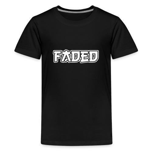 Faded - Teenager Premium T-Shirt