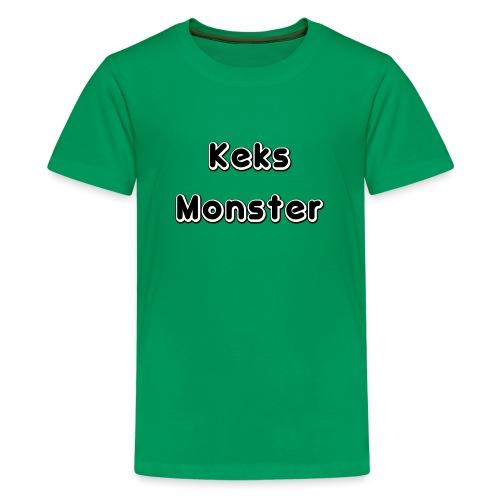 Keks Monster - Teenager Premium T-Shirt