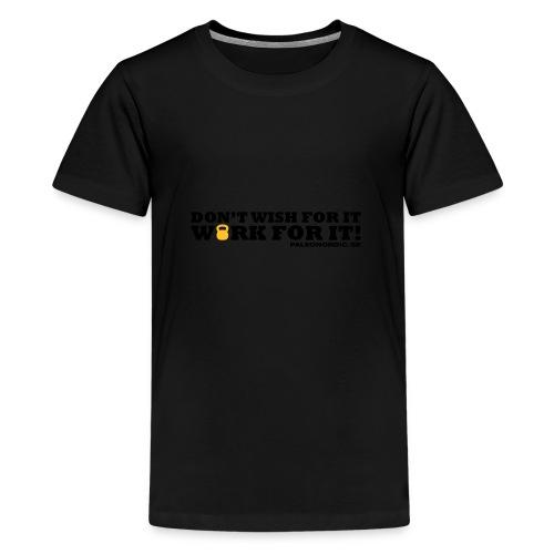workforitsmal - Premium-T-shirt tonåring