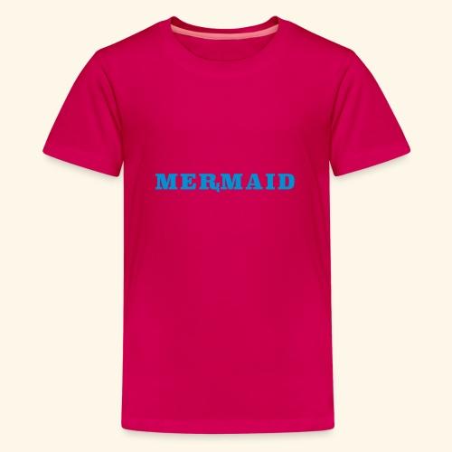 Mermaid logo - Premium-T-shirt tonåring