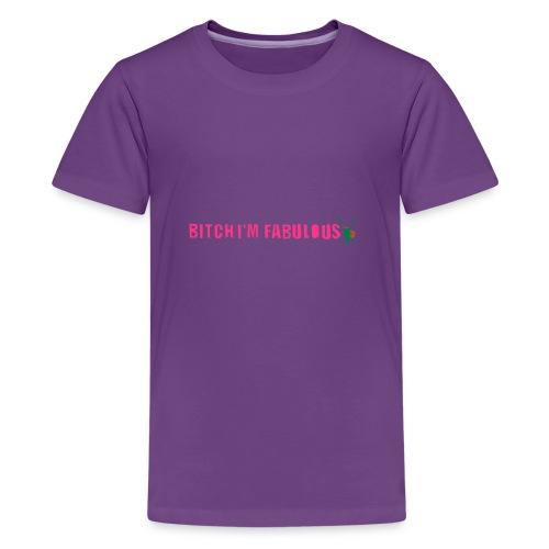Bitch, I'm fabulous modliszka, długie - Koszulka młodzieżowa Premium