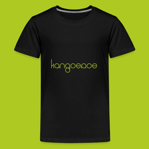 Green Kangoeroe design - T-shirt Premium Ado
