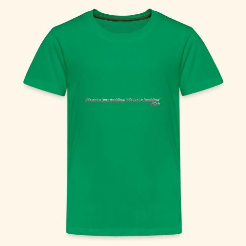 Gay wedding - Koszulka młodzieżowa Premium