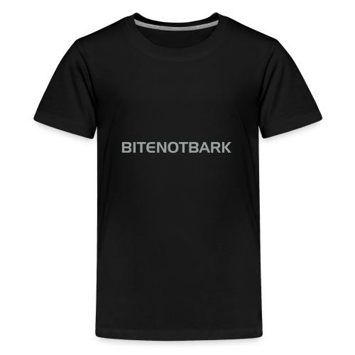 BNB-Schriftzug AI - Teenager Premium T-Shirt