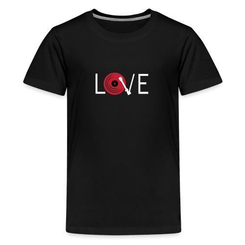 Love vynil - Maglietta Premium per ragazzi