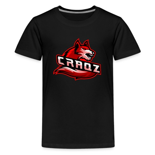 Craqz logo - Teenager premium T-shirt