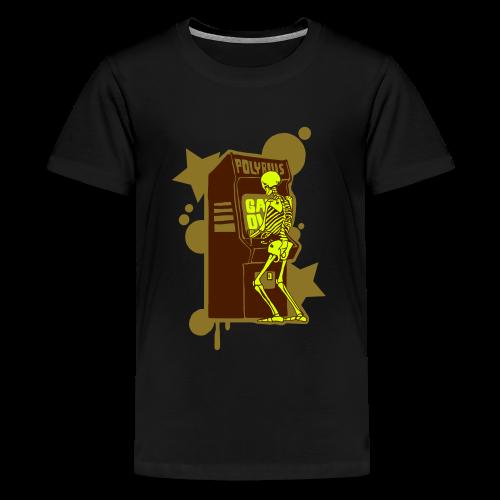Hi-Score Gold and Neon - Koszulka młodzieżowa Premium
