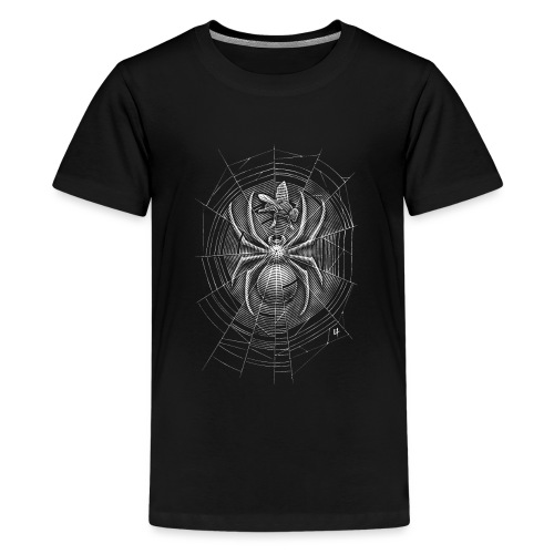 Spider Web - Teenage Premium T-Shirt