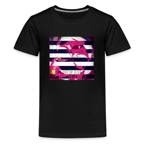 New age owl - Teenage Premium T-Shirt