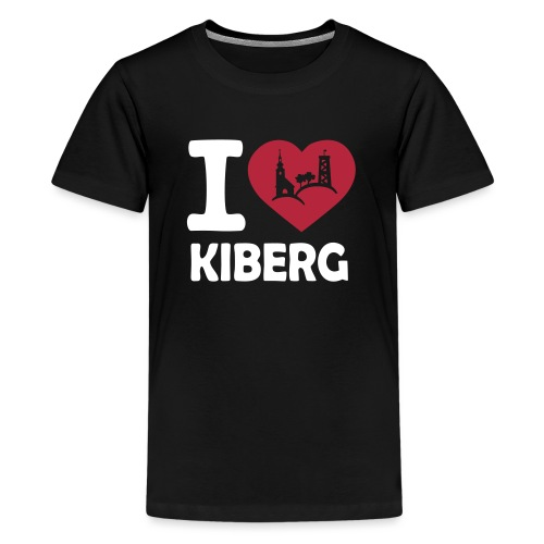 I love Kiberg - Teenager Premium T-Shirt