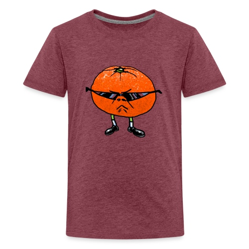 Tangerine Man - Teenage Premium T-Shirt