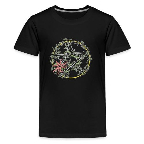 pentacle ivy - Teenage Premium T-Shirt