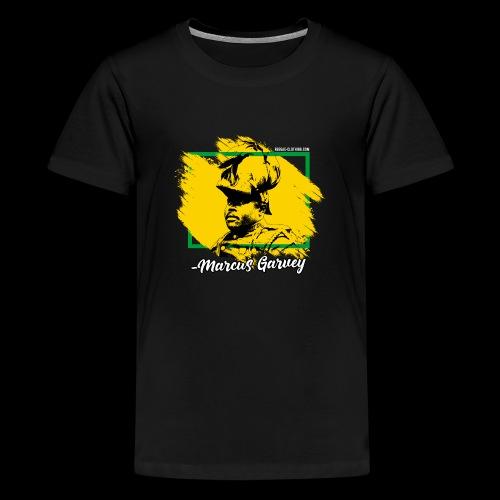 MARCUS GARVEY by Reggae-Clothing.com - Teenager Premium T-Shirt