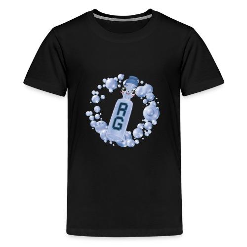 Ramune-Kun T-Shirt - Teenage Premium T-Shirt