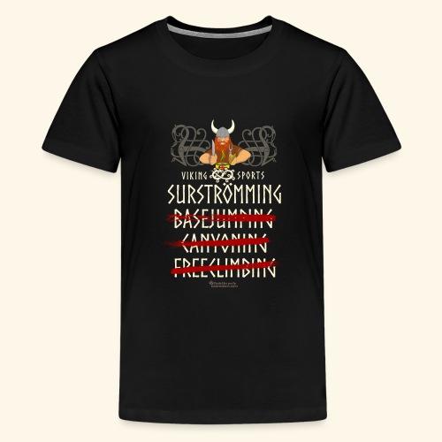 Surströmming Viking Sports - Teenager Premium T-Shirt