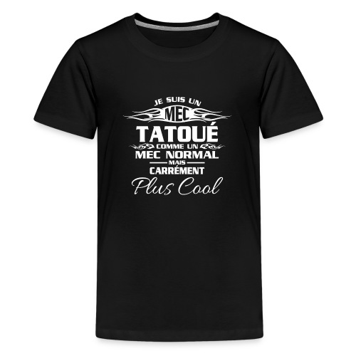 MEC tatou blanc - T-shirt Premium Ado