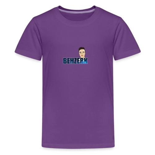 TEE DESIGN 2 png - Teenage Premium T-Shirt