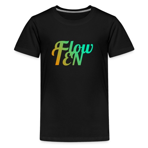 FlowTen Men's T-Shirt Beach Edition - Teenage Premium T-Shirt