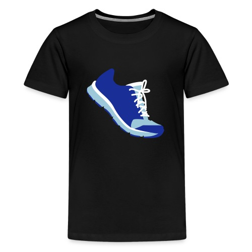 Laufschuh - Teenager Premium T-Shirt
