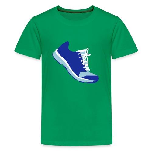 Laufschuh - Teenager Premium T-Shirt