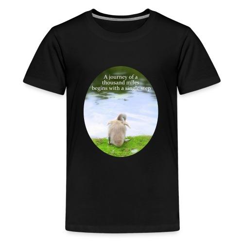 CygnetThousandMiles10mb - Teenage Premium T-Shirt