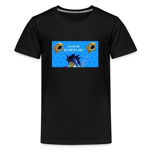 Go team mathew labs! - Teenage Premium T-Shirt