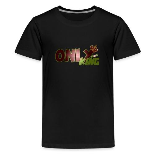 OnlyKing Ecolo design - T-shirt Premium Ado