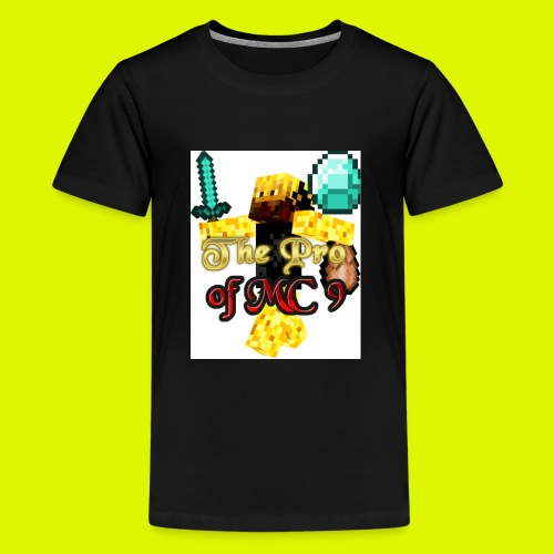 The Pro of MC 9 Profile Picture - Teenage Premium T-Shirt